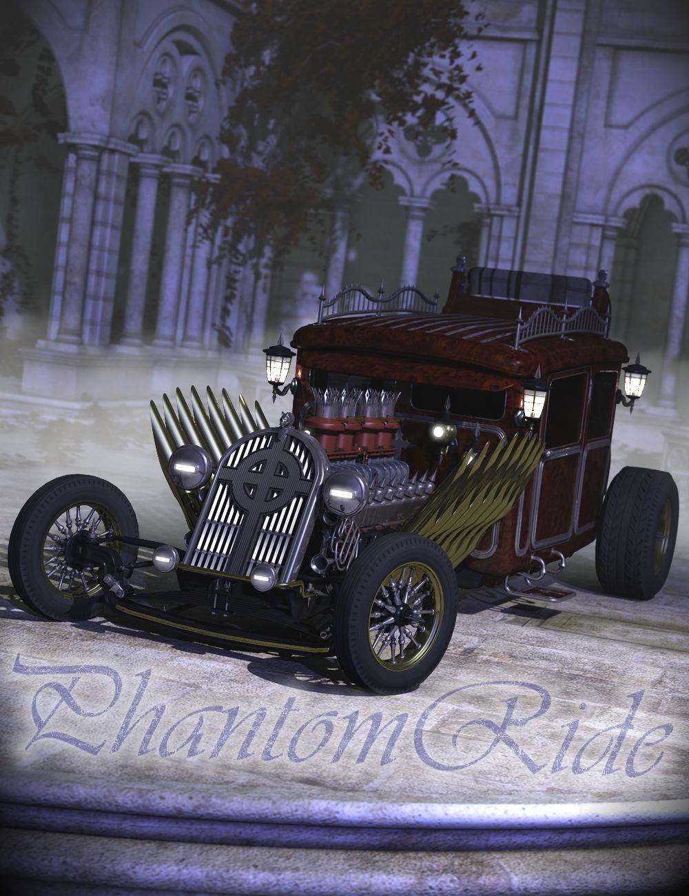 Phantom Ride by: DzFire, 3D Models by Daz 3D