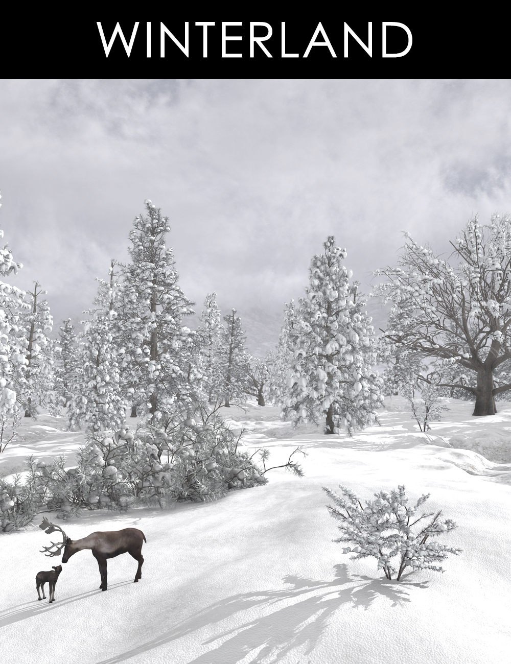 Winterland by: Alessandro_AMLMX3D, 3D Models by Daz 3D