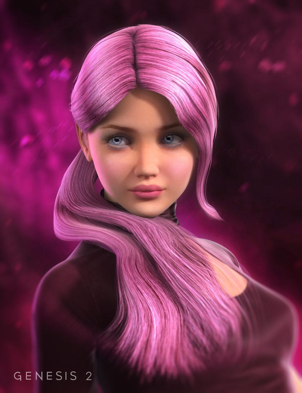 Melinda Hair by: EmmaAndJordi, 3D Models by Daz 3D