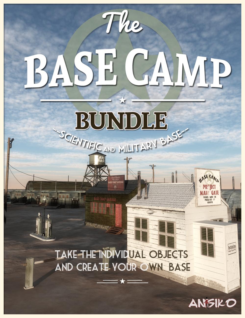 The Base Camp Bundle by: Ansiko, 3D Models by Daz 3D