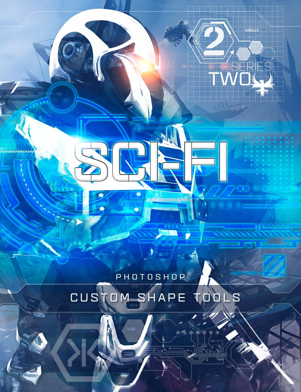 Ron's Sci-Fi Custom Shapes Series 2 by: deviney, 3D Models by Daz 3D