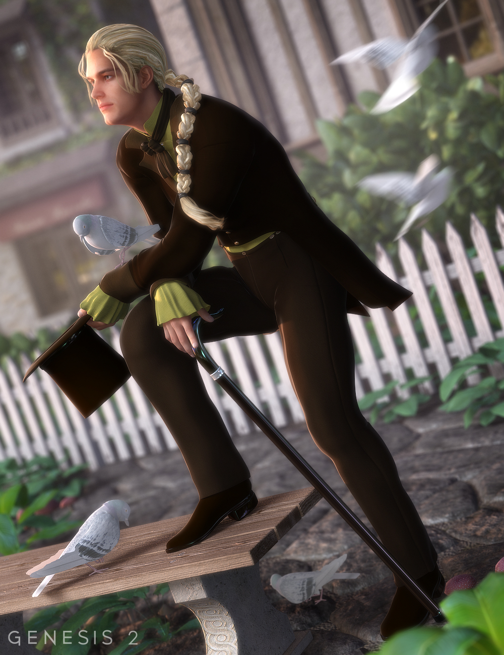 Regency for Genesis 2 Male(s) by: Ravenhair, 3D Models by Daz 3D