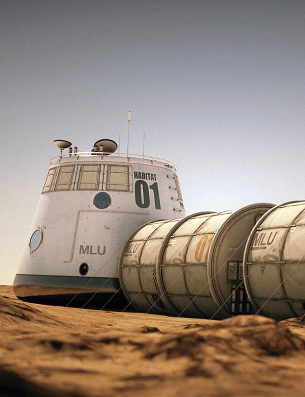 Mars Habitat by: Stonemason, 3D Models by Daz 3D