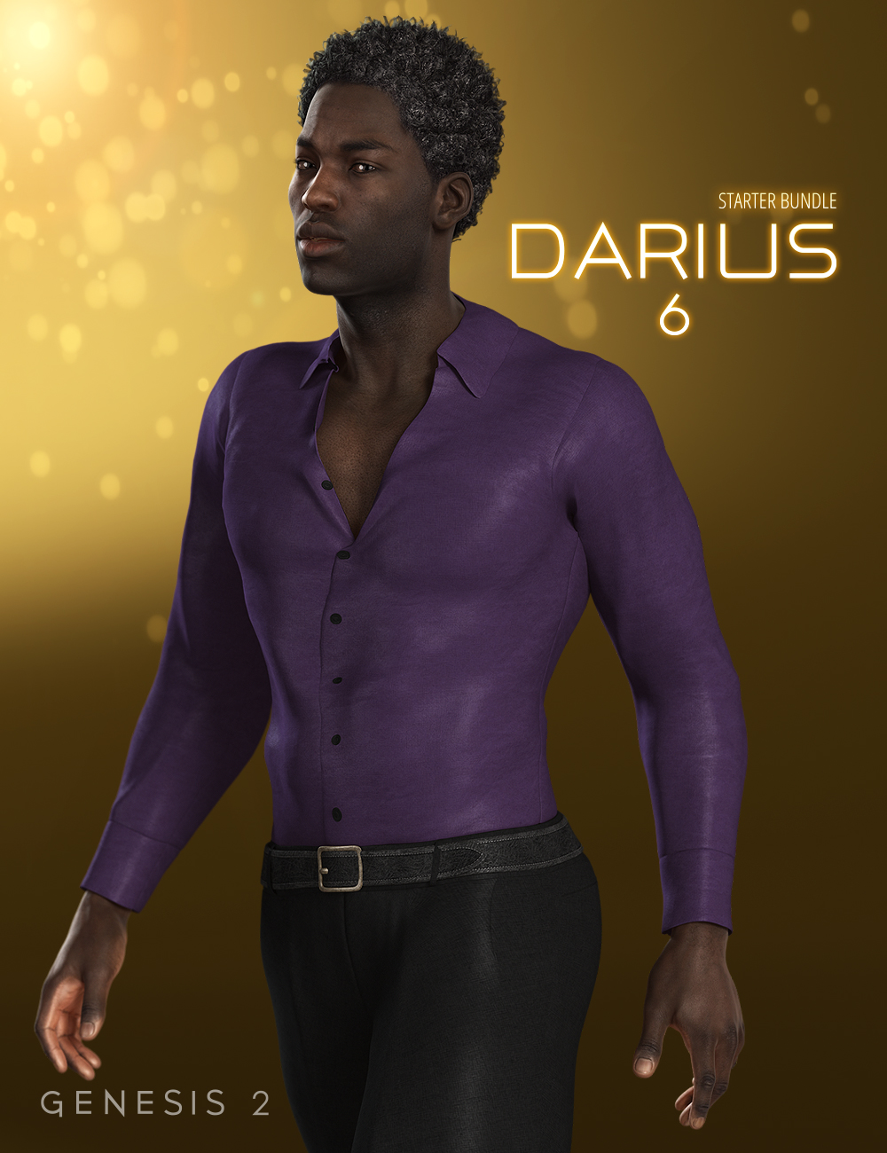Darius 6 Starter Bundle by: , 3D Models by Daz 3D