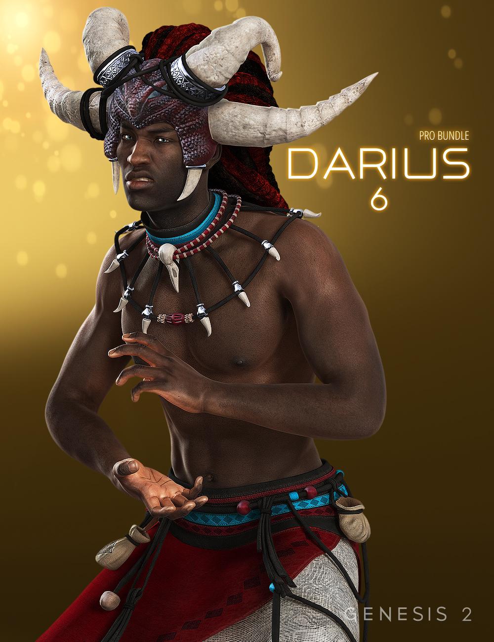 Darius 6 Pro Bundle by: , 3D Models by Daz 3D