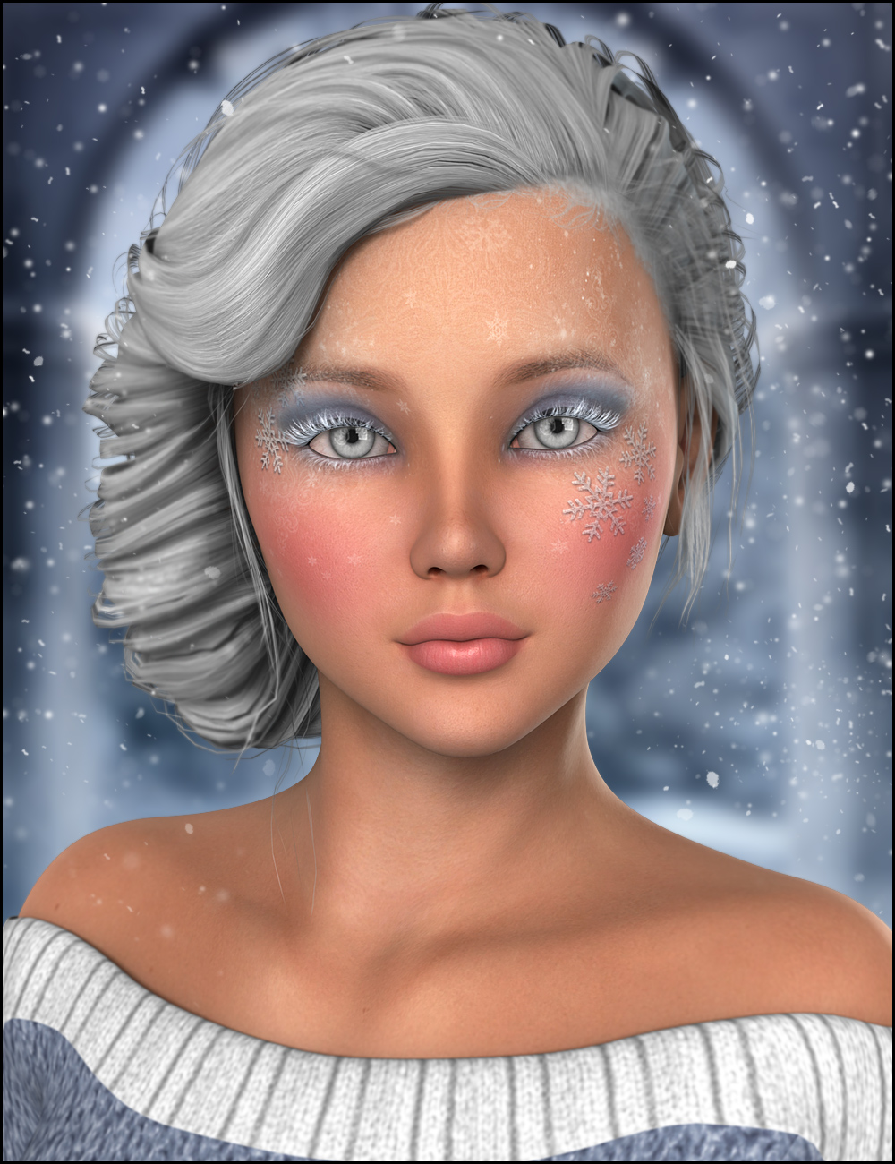 December for Belle 6 by: JessaiiRaziel, 3D Models by Daz 3D