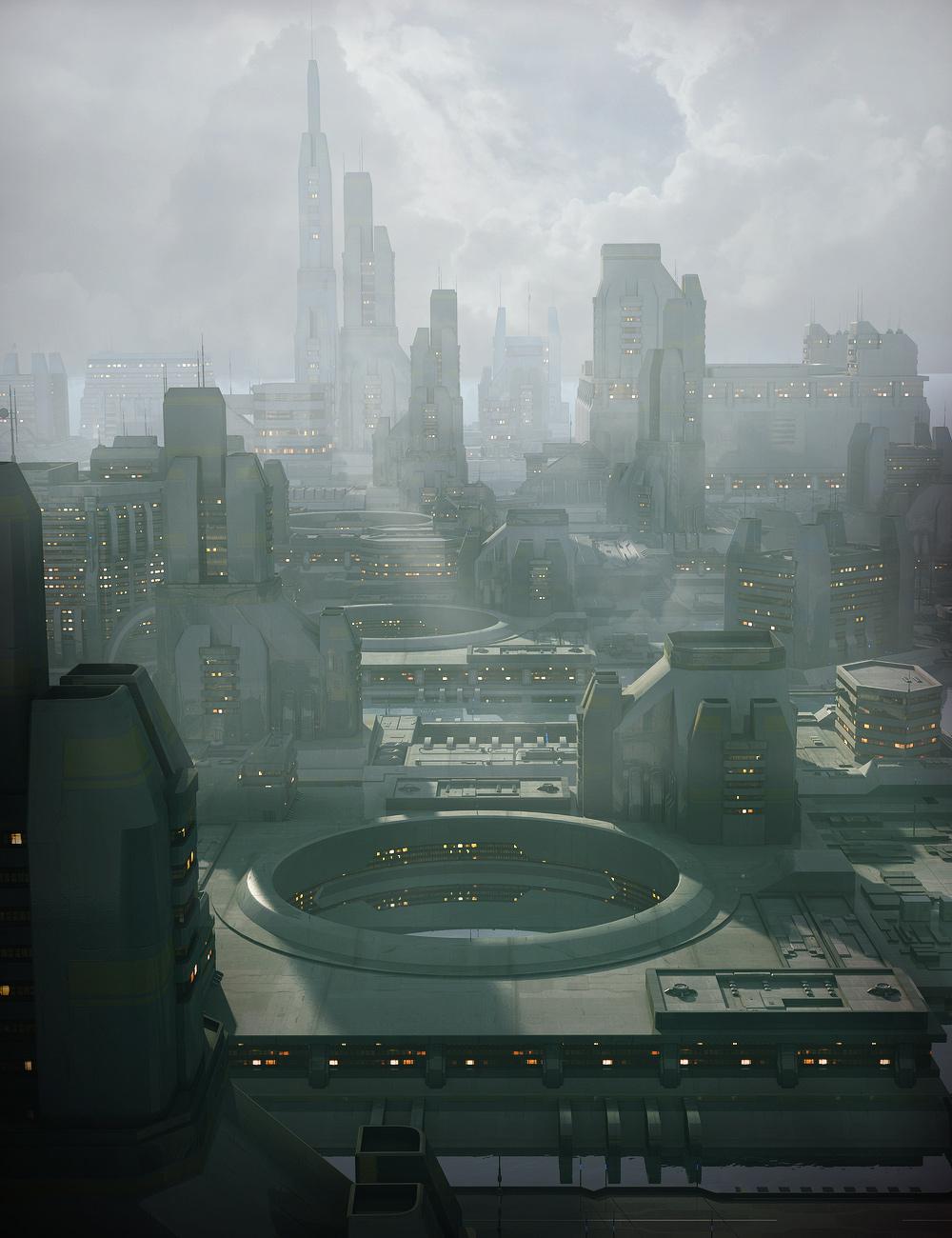 Greeble City Blocks 3 by: Stonemason, 3D Models by Daz 3D