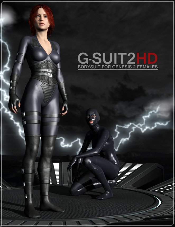 G-Suit 2 HD by: Flipmode, 3D Models by Daz 3D