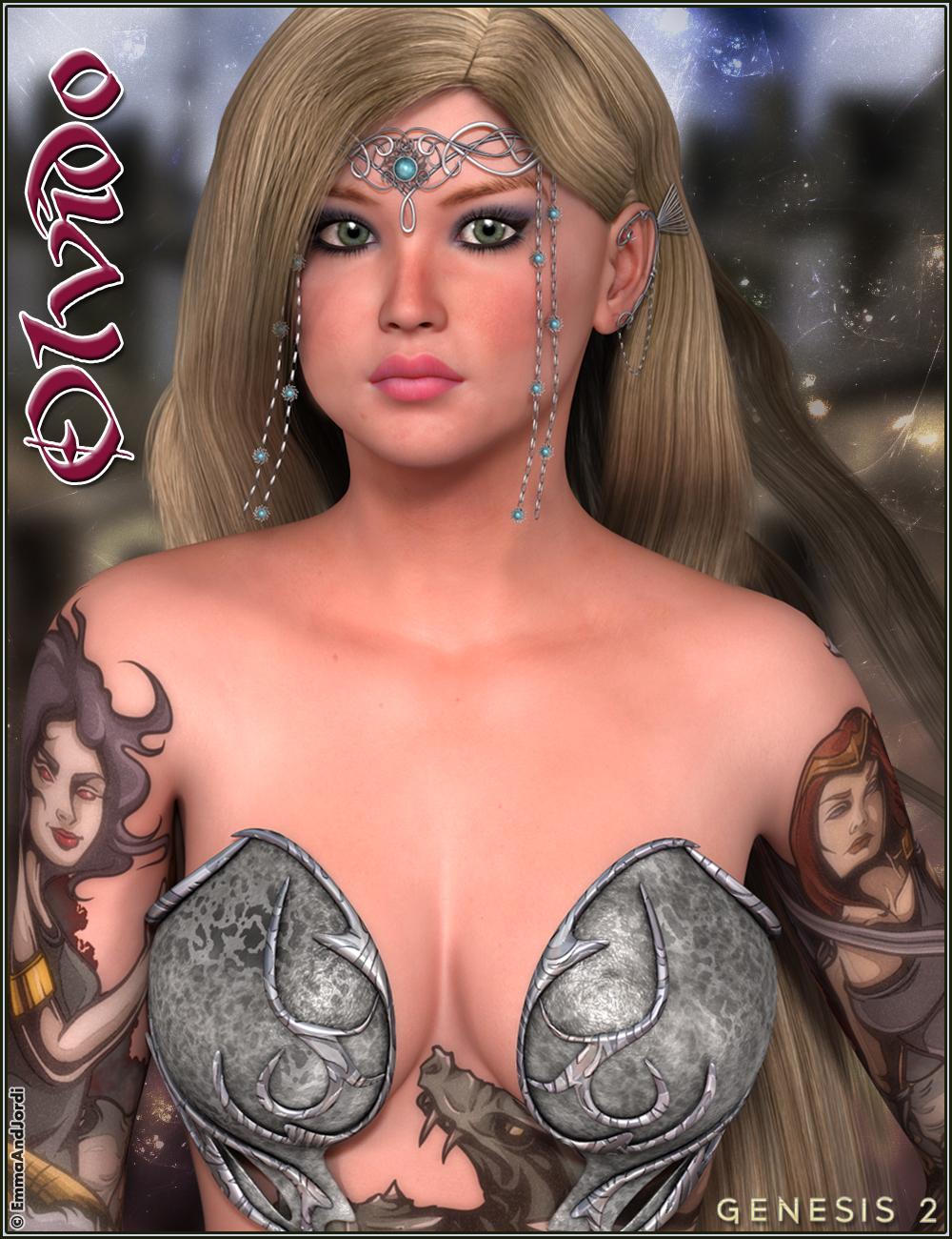 EJ Olvido by: EmmaAndJordi, 3D Models by Daz 3D