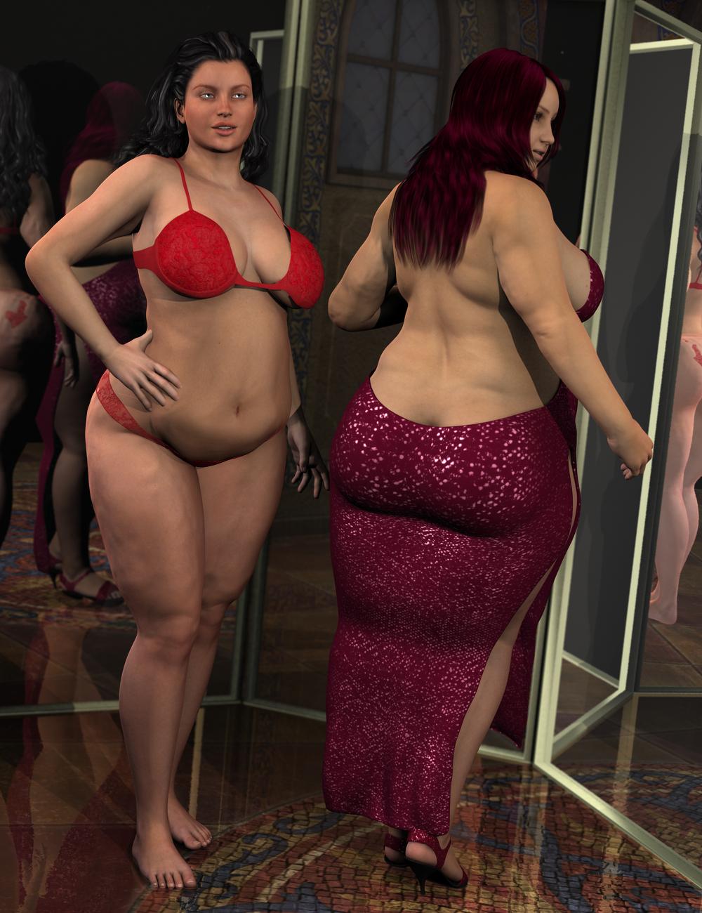 Big Beautiful Genesis 2 Female(s) by: Sickleyield, 3D Models by Daz 3D