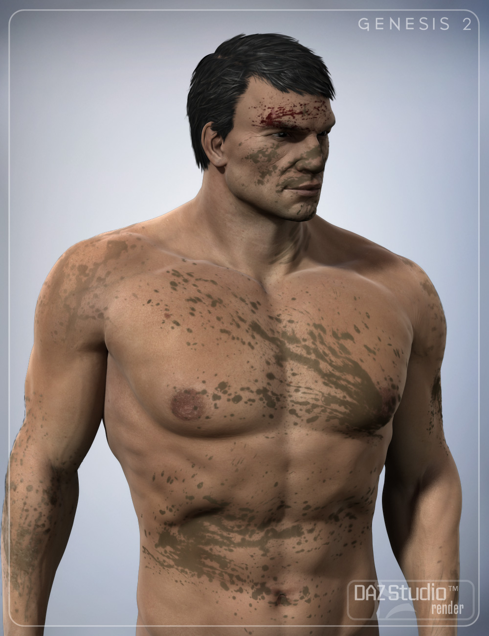Dirt and Blood for Genesis and Genesis 2 by: smay, 3D Models by Daz 3D