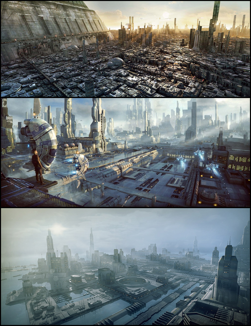 Greeble City Blocks Bundle by: Stonemason, 3D Models by Daz 3D