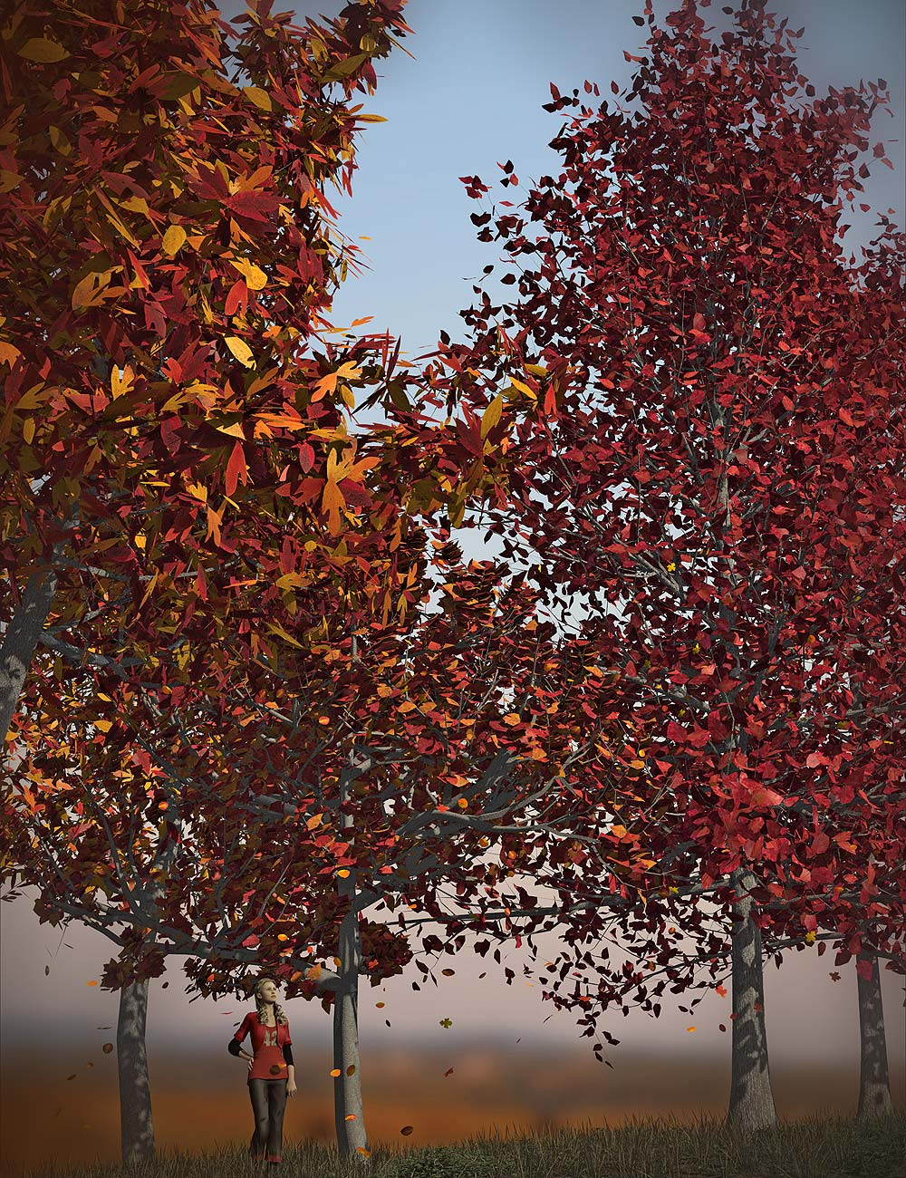Orestes Trees Vol 2 by: Orestes Graphics, 3D Models by Daz 3D