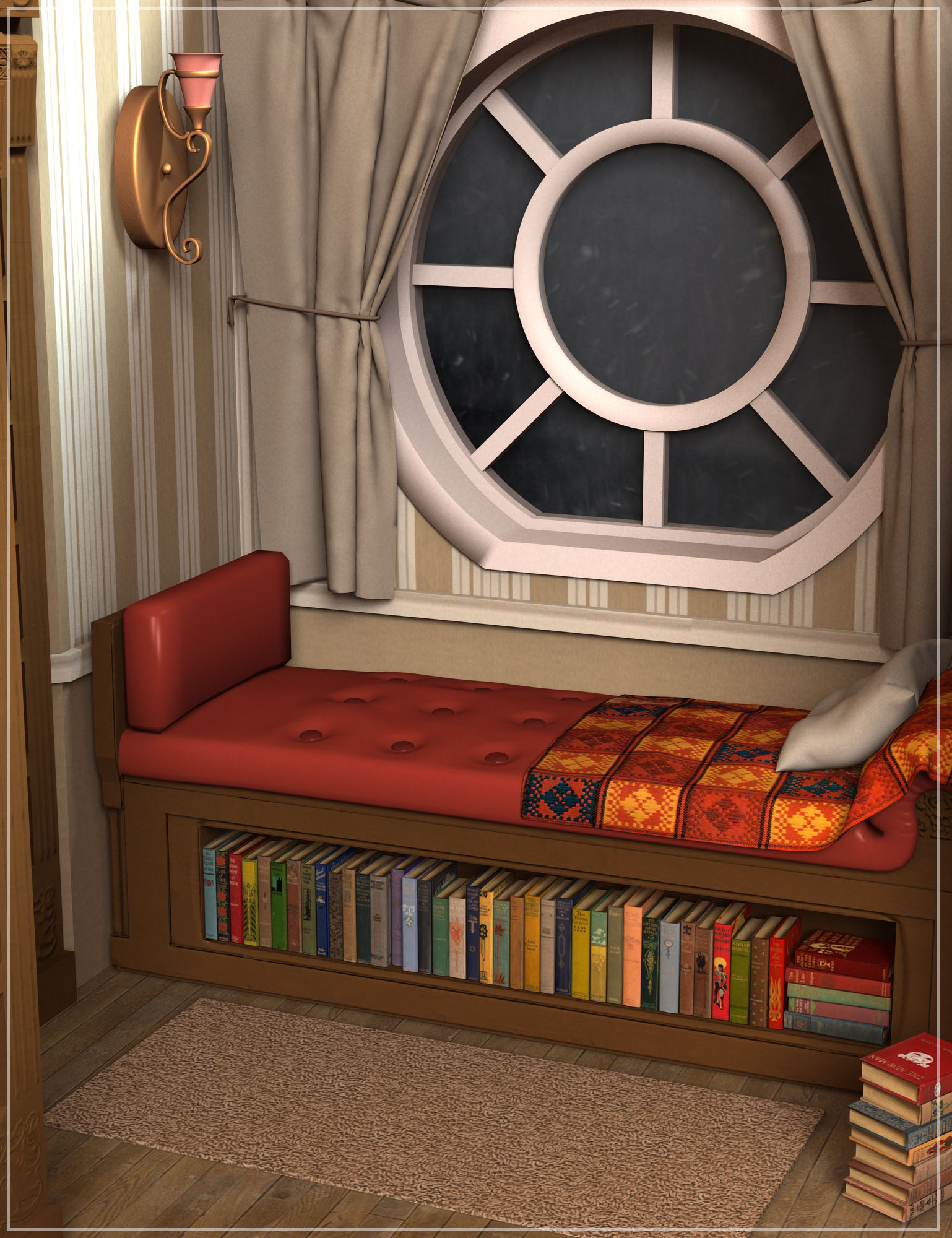 The Nook by: Oskarsson, 3D Models by Daz 3D
