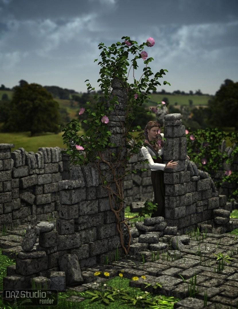 Stone Borders by: Merlin Studios, 3D Models by Daz 3D