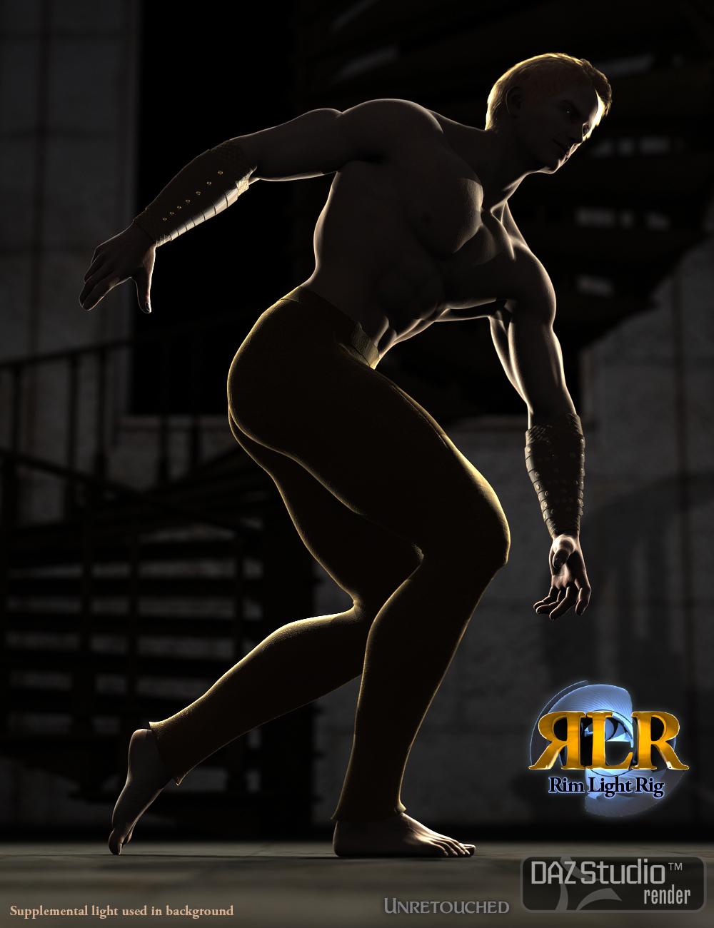 Rim Light Rig by: Marshian, 3D Models by Daz 3D