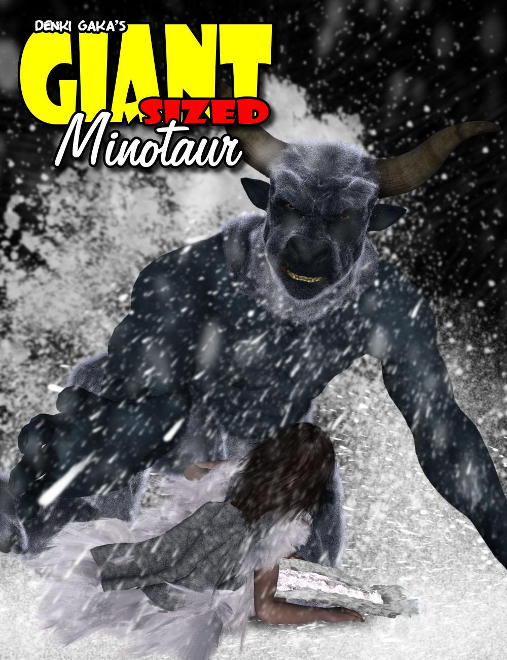 Giant Sized Minotaur 6 by: Denki Gaka, 3D Models by Daz 3D