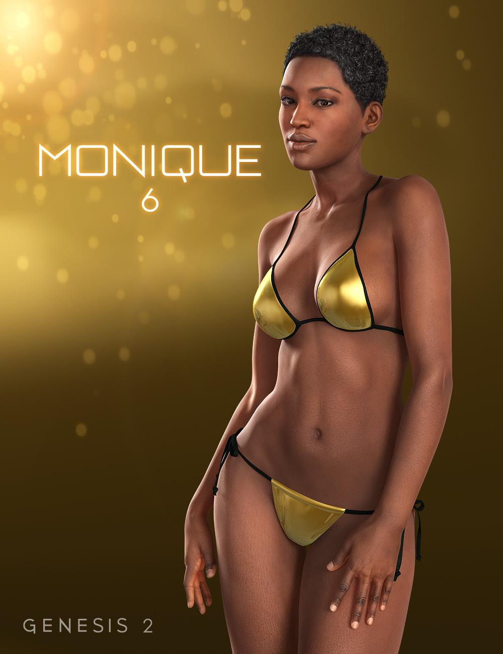 Monique 6 by: , 3D Models by Daz 3D