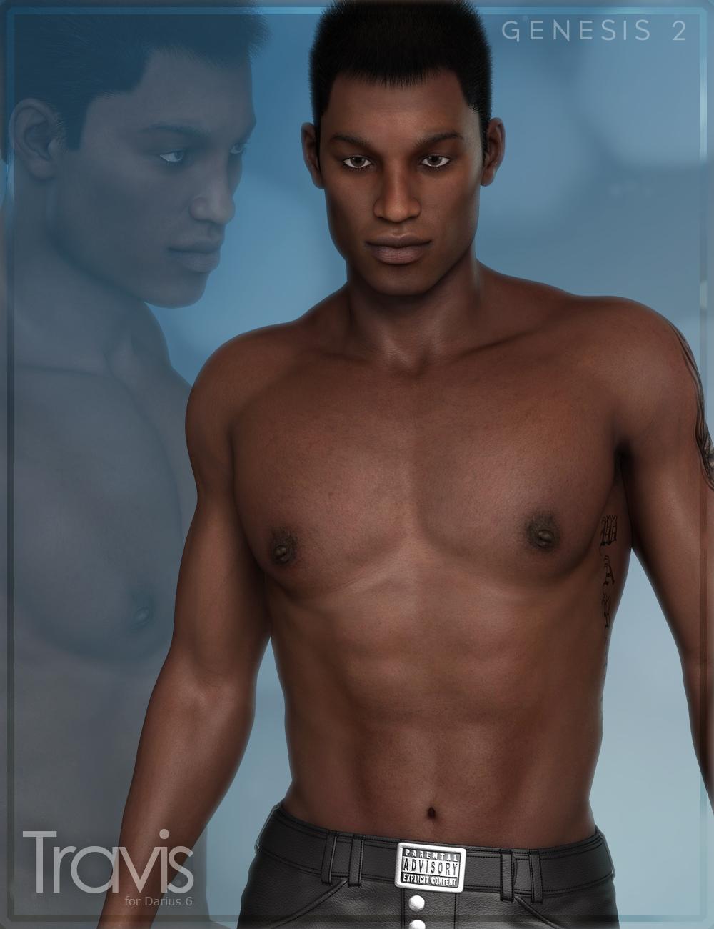 FW Travis for Darius 6 by: Fisty & DarcFred Winkler Art, 3D Models by Daz 3D