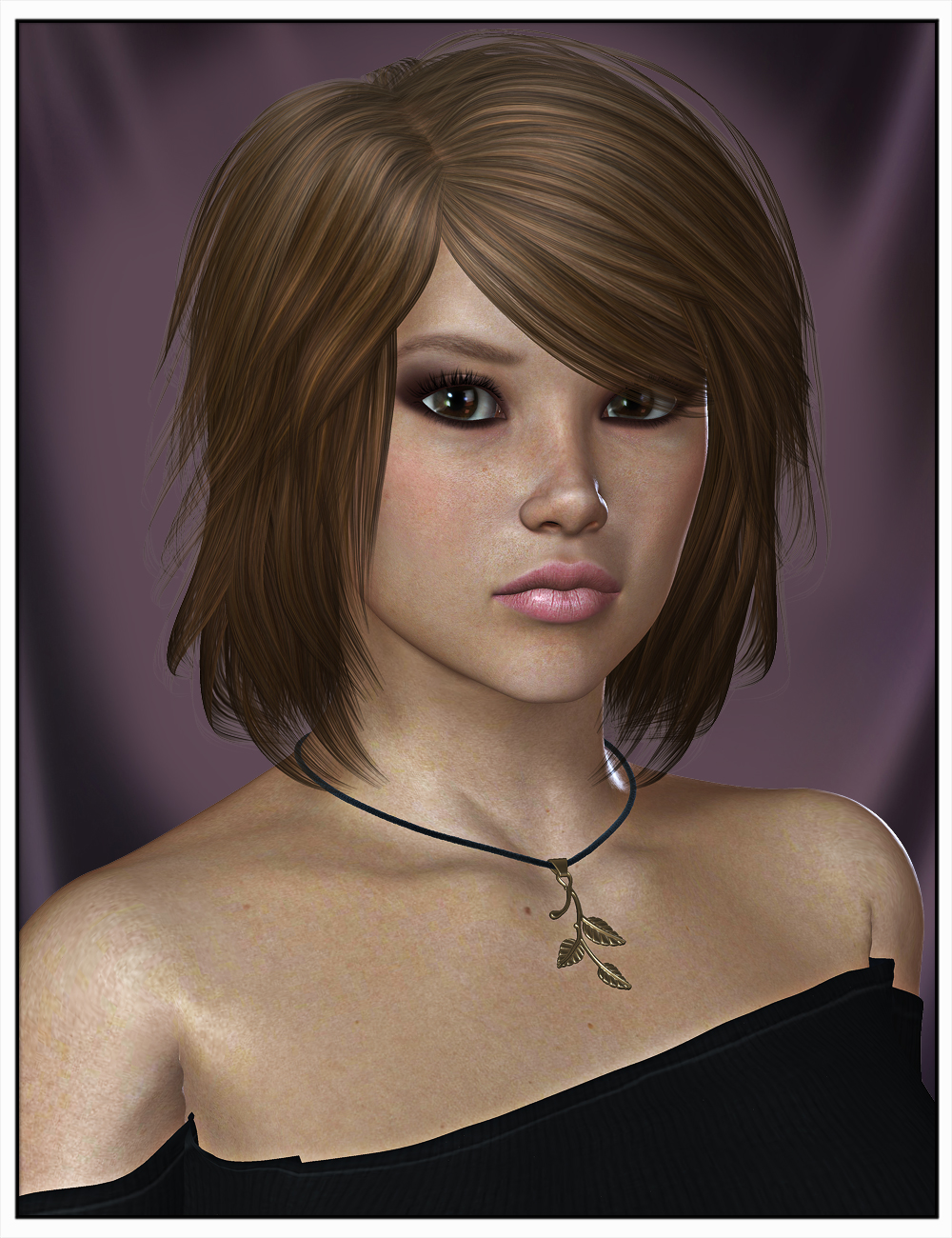 Toby Hair for Genesis 2 Female(s) and Victoria 4 by: SWAM, 3D Models by Daz 3D
