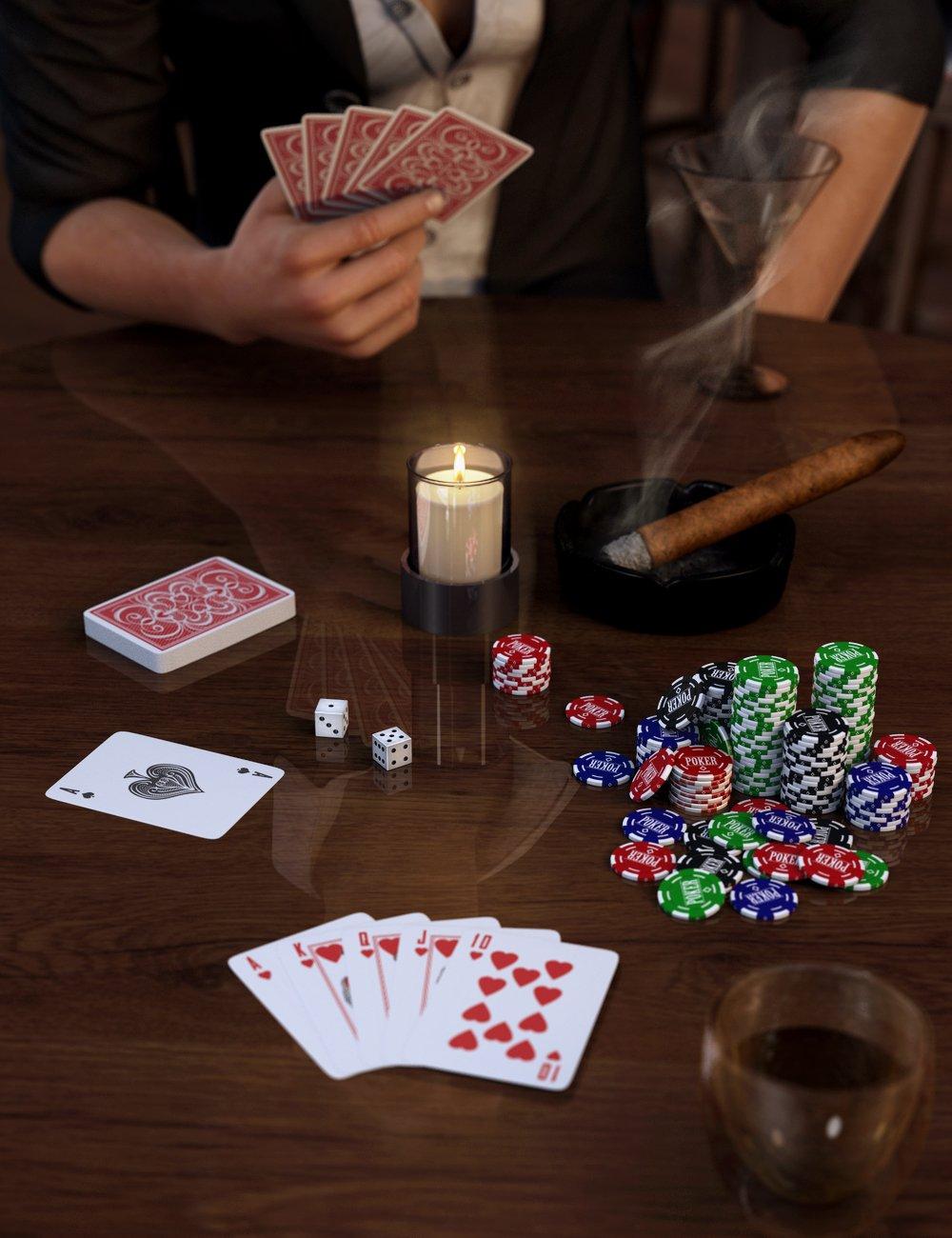 Card Deck Assortment by: ARTCollab, 3D Models by Daz 3D