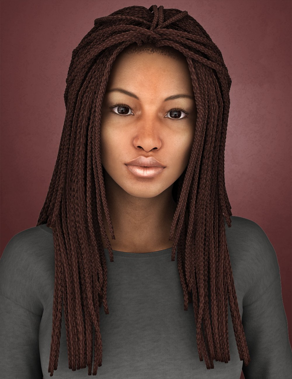 Medea Hair for Genesis 2 Female(s) and Victoria 4 by: SWAM, 3D Models by Daz 3D