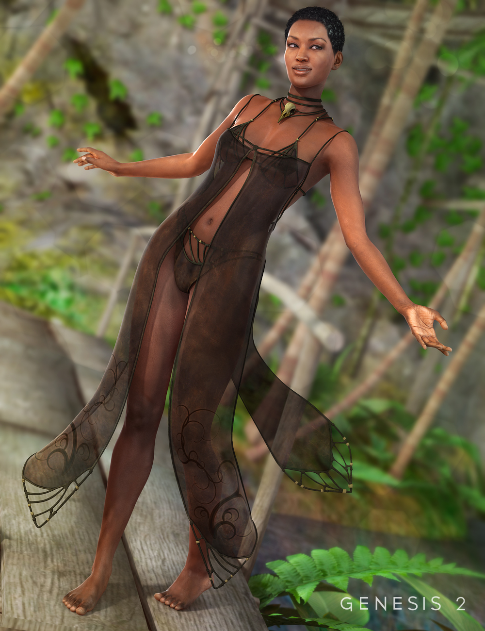 Aether Outfit for Genesis 2 Female(s) by: DarkStarBurningMada, 3D Models by Daz 3D