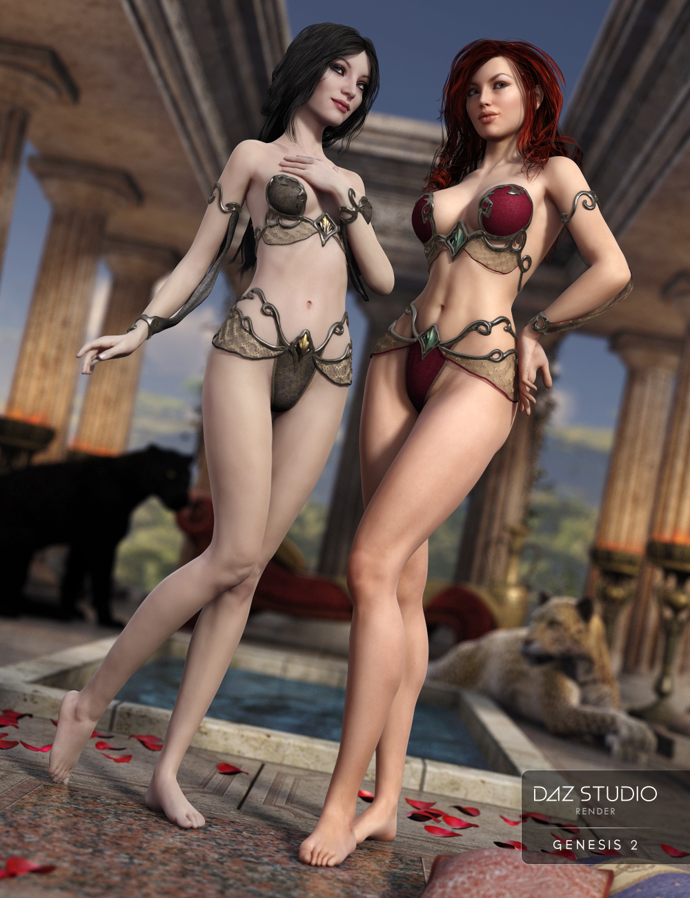 Alethya Outfit Textures by: Sarsa, 3D Models by Daz 3D
