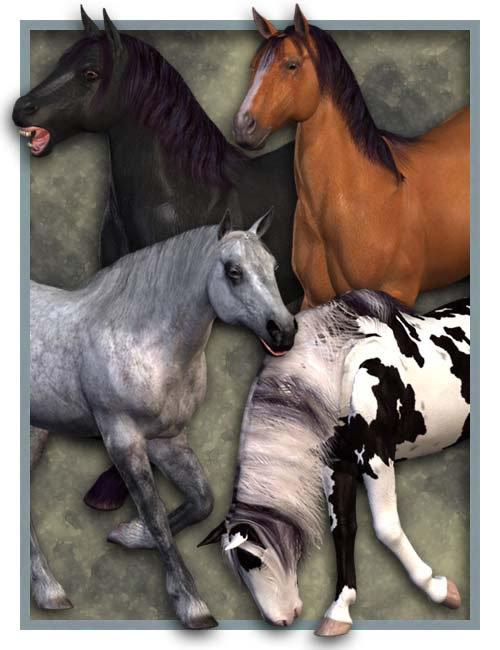 Millennium Horse by: , 3D Models by Daz 3D