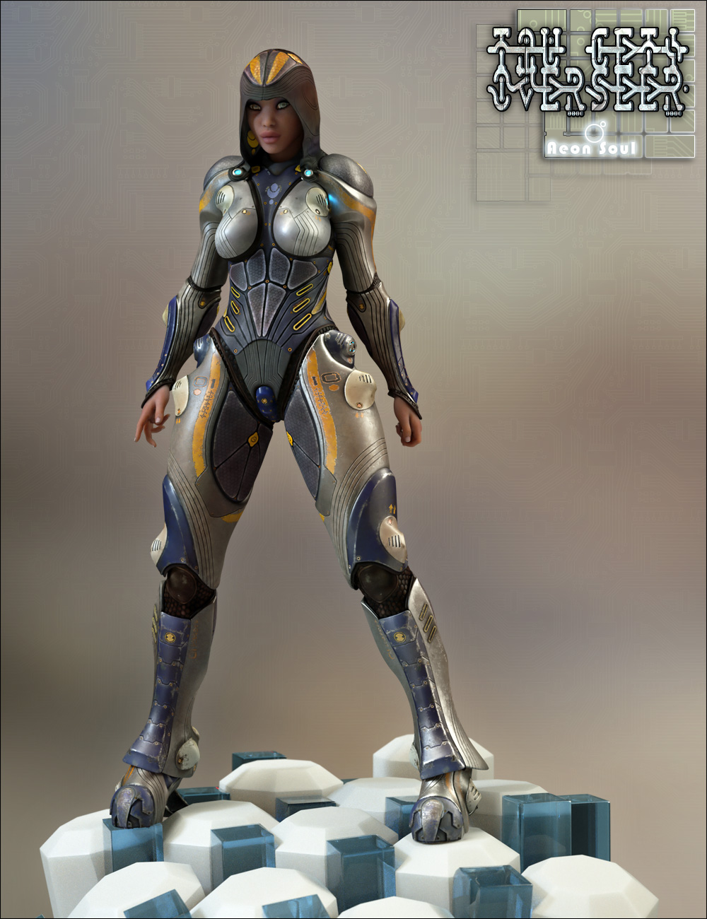 Tau Ceti Overseer by: Aeon Soul, 3D Models by Daz 3D
