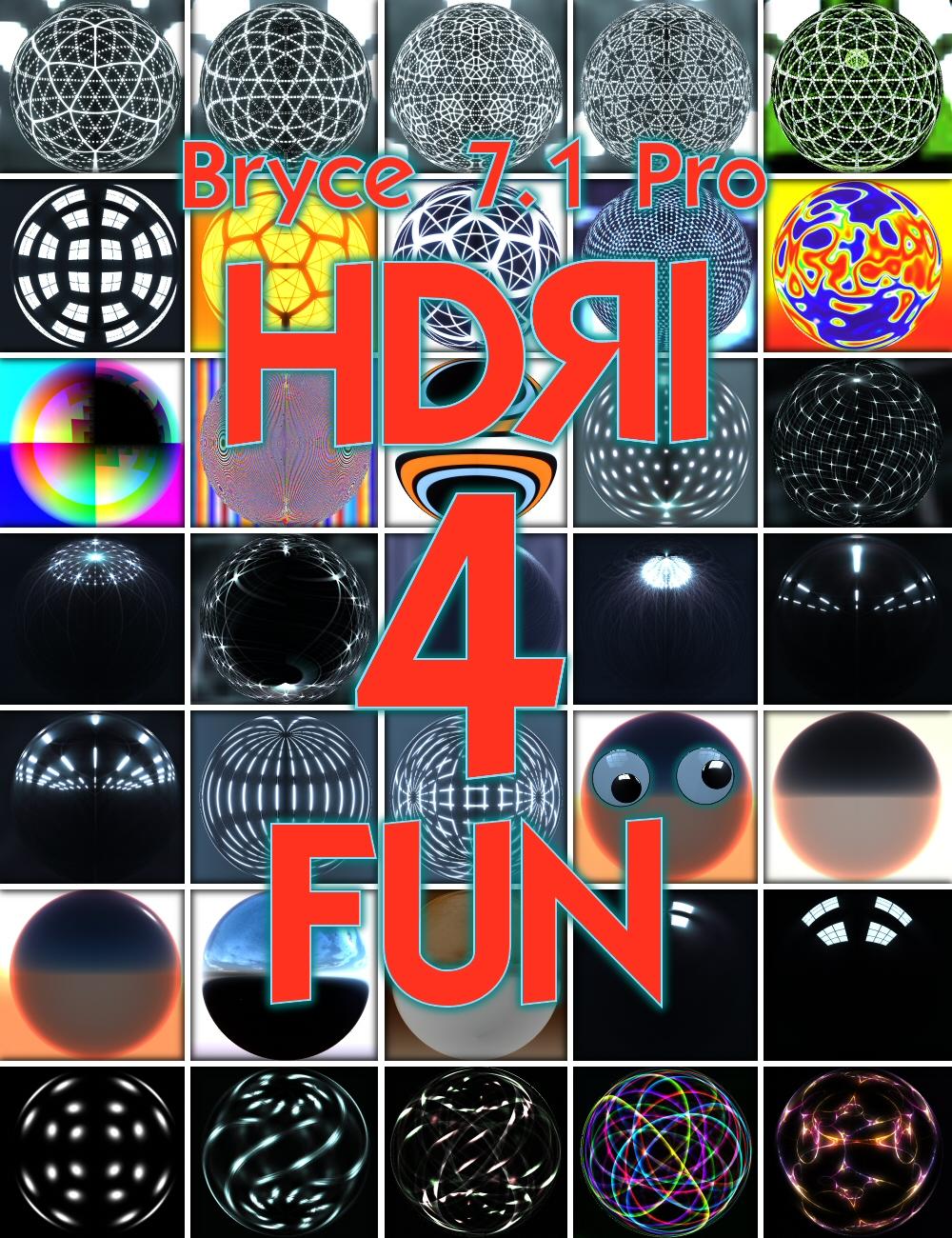 Bryce 7.1 Pro - HDRI for Fun by: David BrinnenHoro, 3D Models by Daz 3D