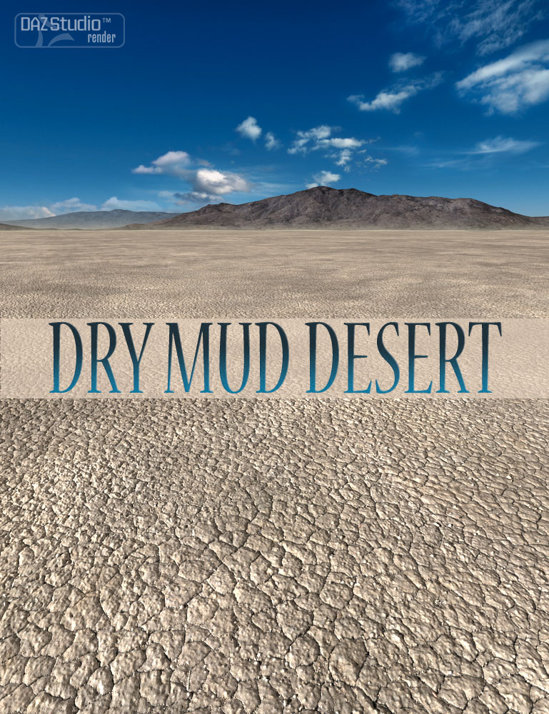 Dry Mud Desert by: Aako, 3D Models by Daz 3D