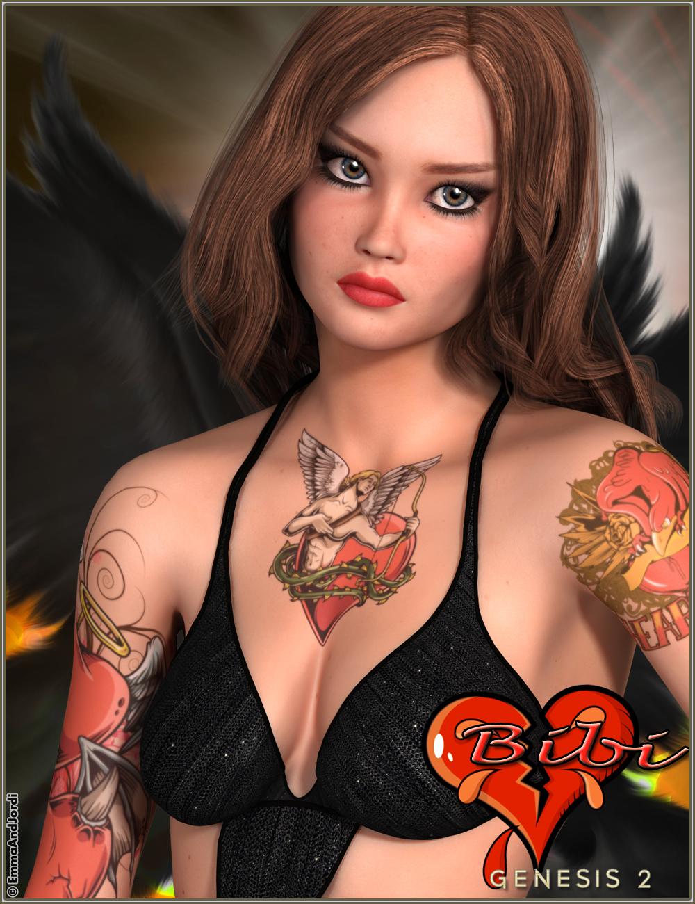EJ Bibi by: EmmaAndJordi, 3D Models by Daz 3D