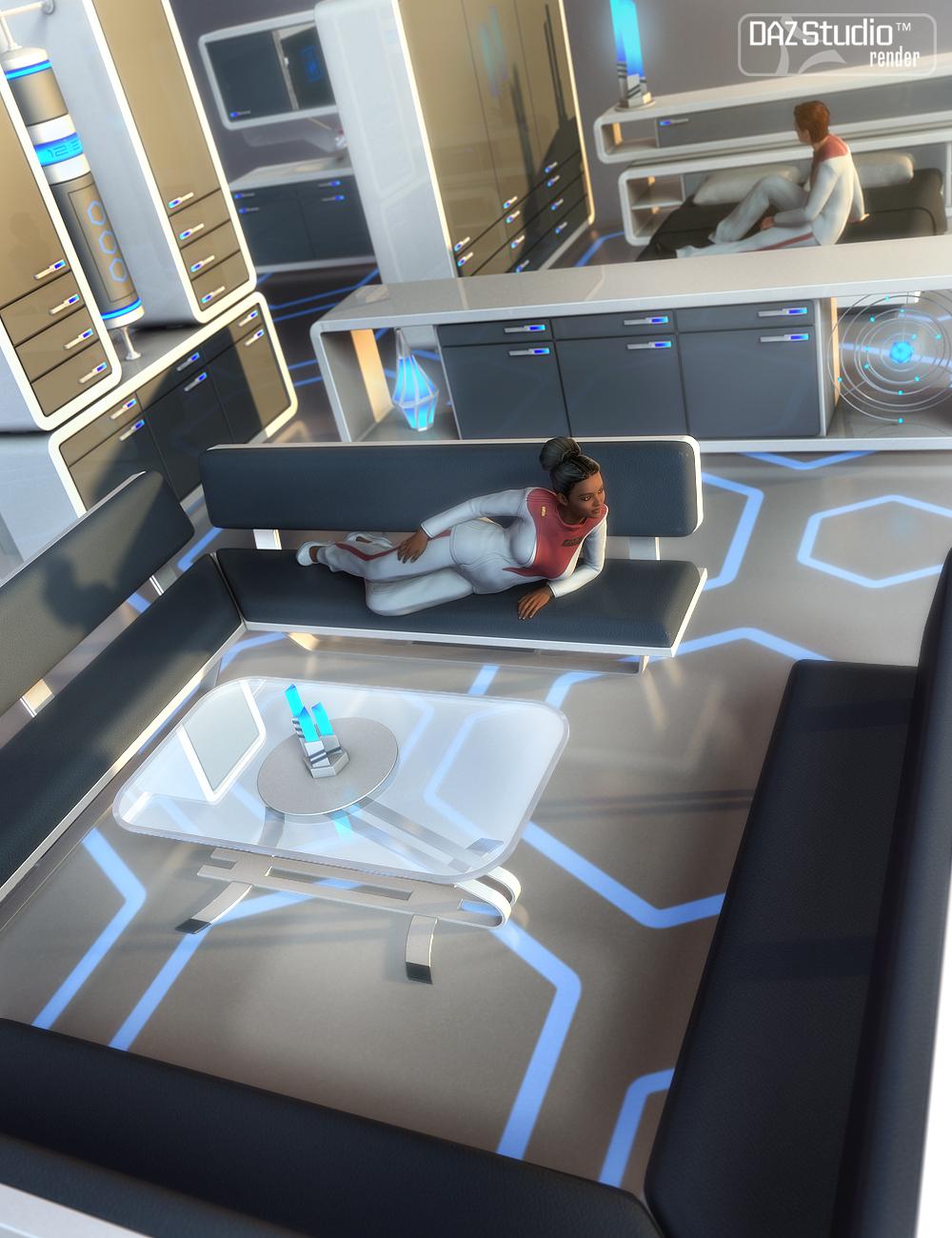 Sci-fi Outpost Props by: petipet, 3D Models by Daz 3D