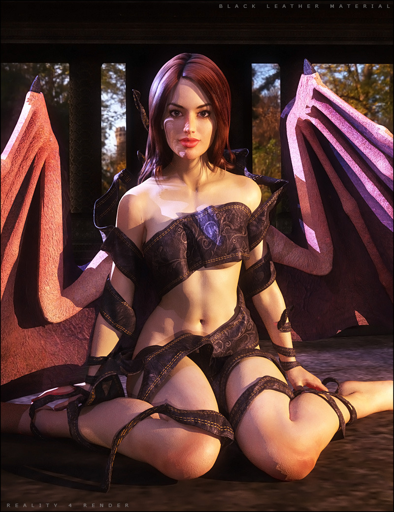 Fantasy Cloth Wrap - A Splash of Colors by: SHIFTING IMAGES, 3D Models by Daz 3D
