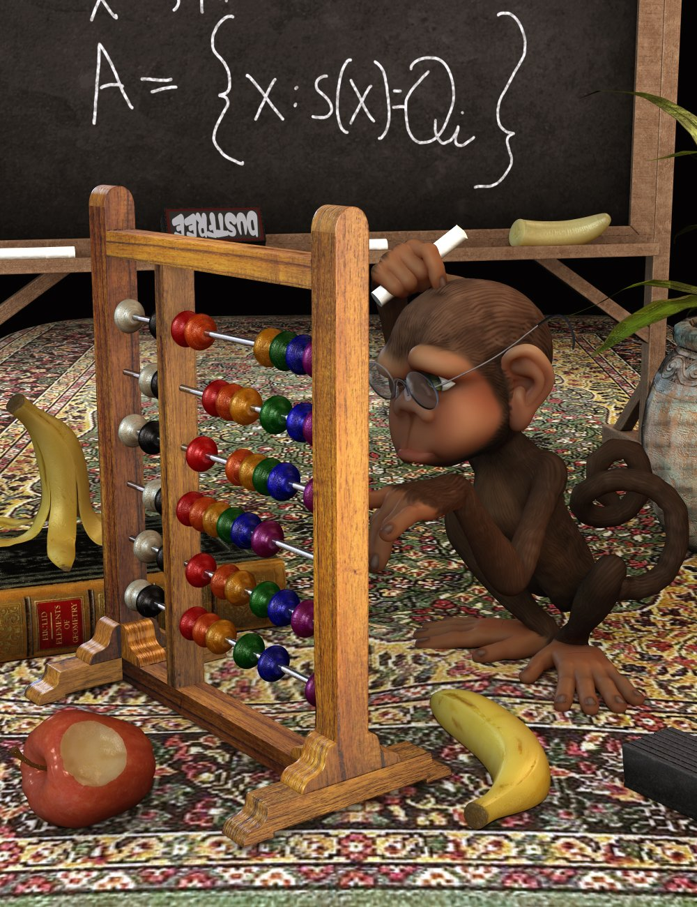 Abacus by: Thorne, 3D Models by Daz 3D