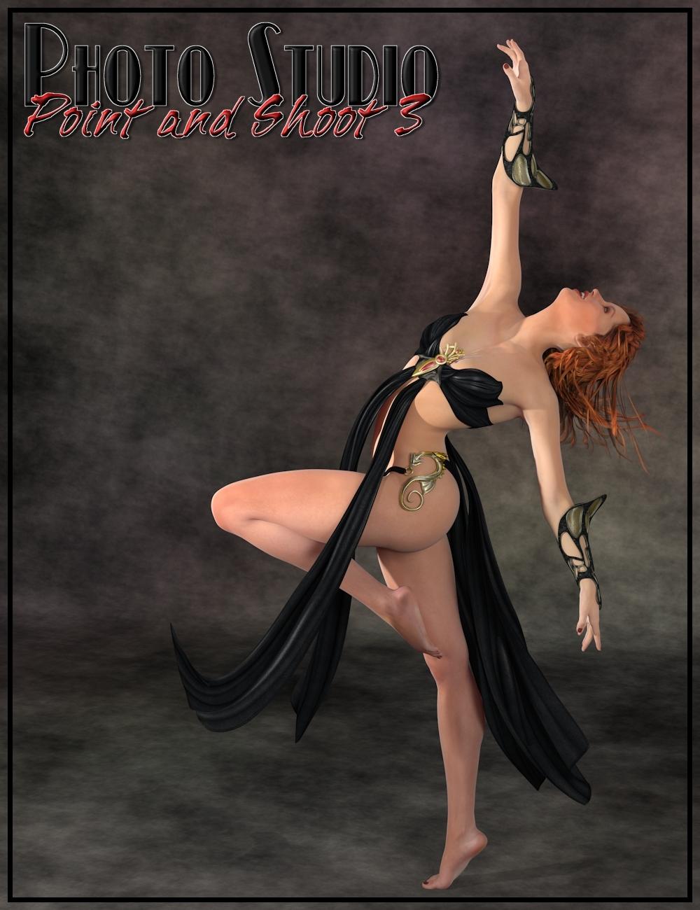 InaneGlory's Photo Studio - Point and Shoot 3 by: IDG DesignsDestinysGardenInaneGlory, 3D Models by Daz 3D