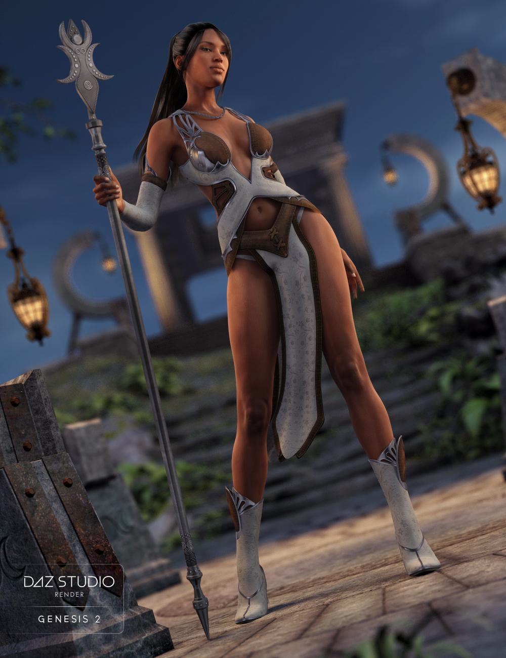 Moon Goddess for Genesis 2 Female(s) by: Nikisatez, 3D Models by Daz 3D