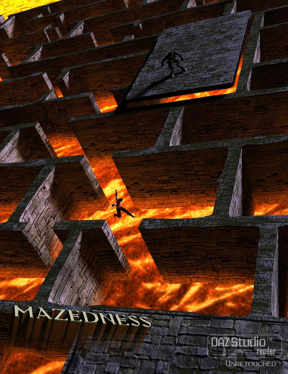 Mazedness for DAZ Studio by: Marshian, 3D Models by Daz 3D