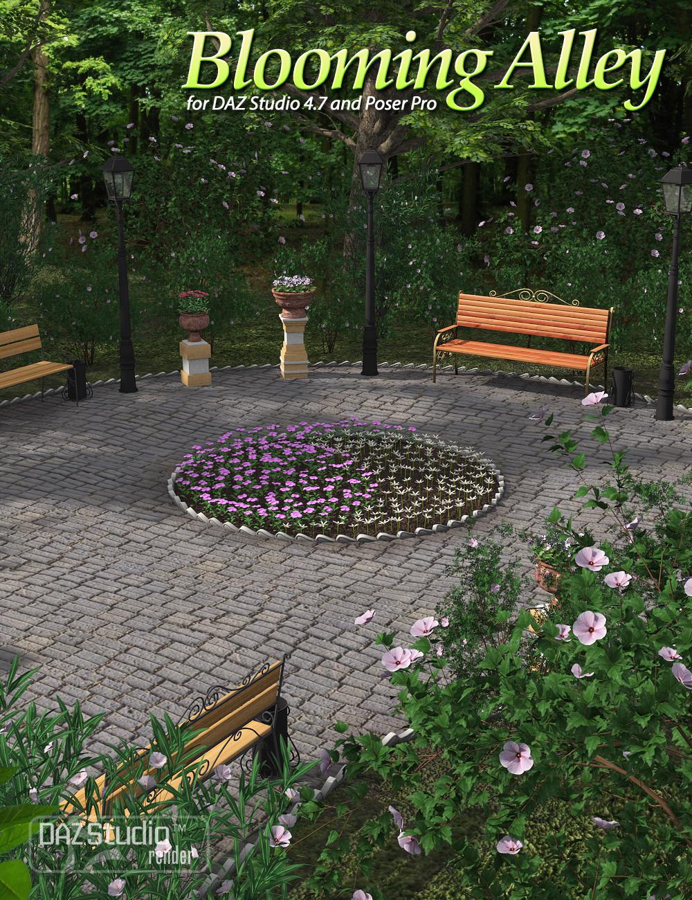 Blooming Alley by: Andrey Pestryakov, 3D Models by Daz 3D