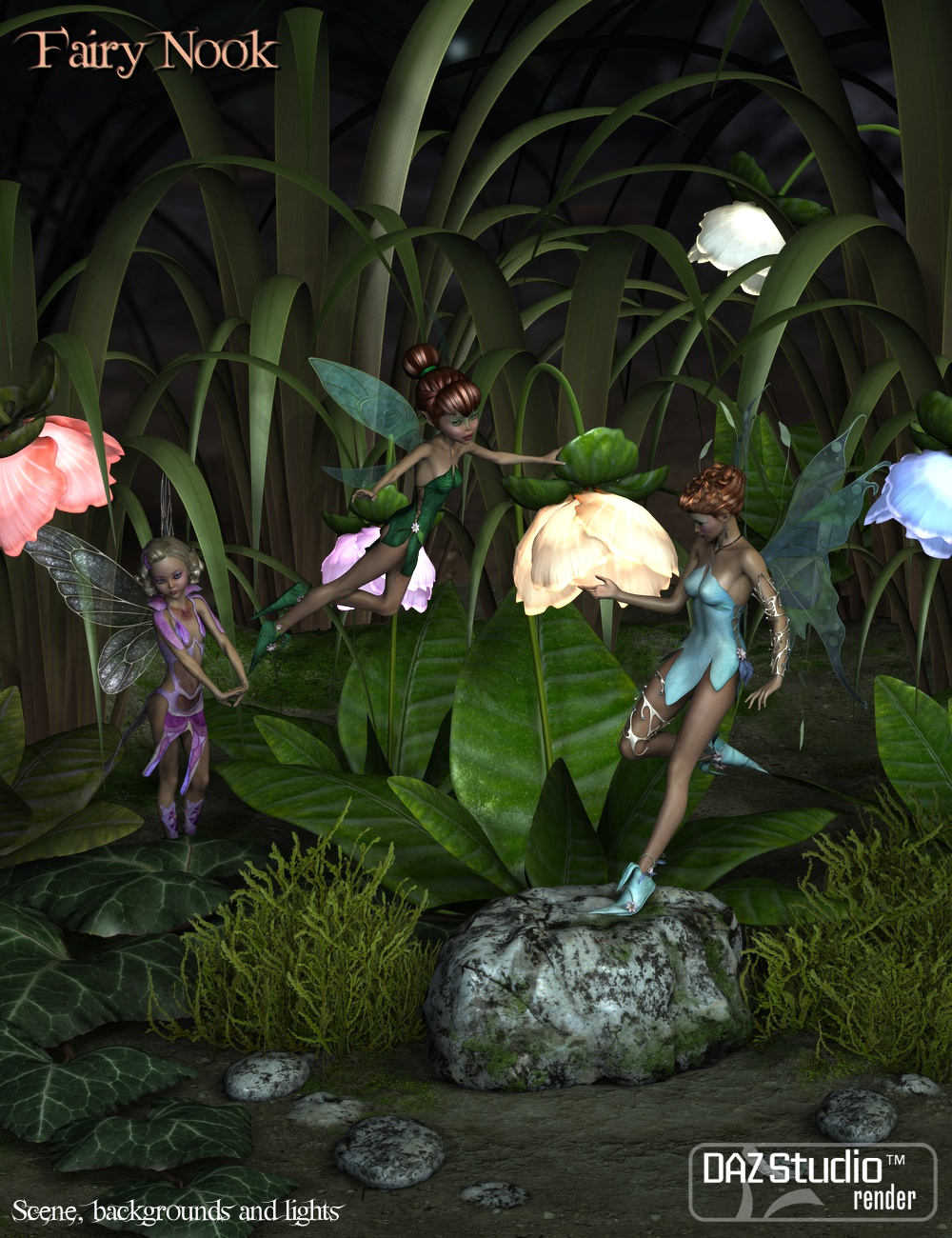 Fairy Nook by: vikike1763D-GHDesign, 3D Models by Daz 3D