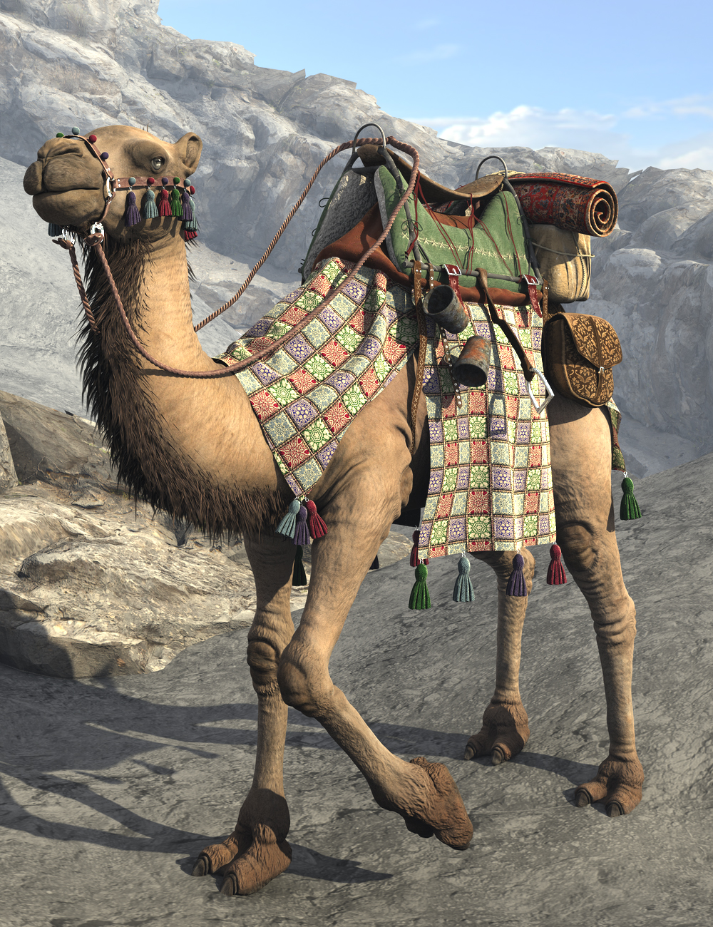 My Camel Camelia HD by: LuthbellinaLuthbel, 3D Models by Daz 3D