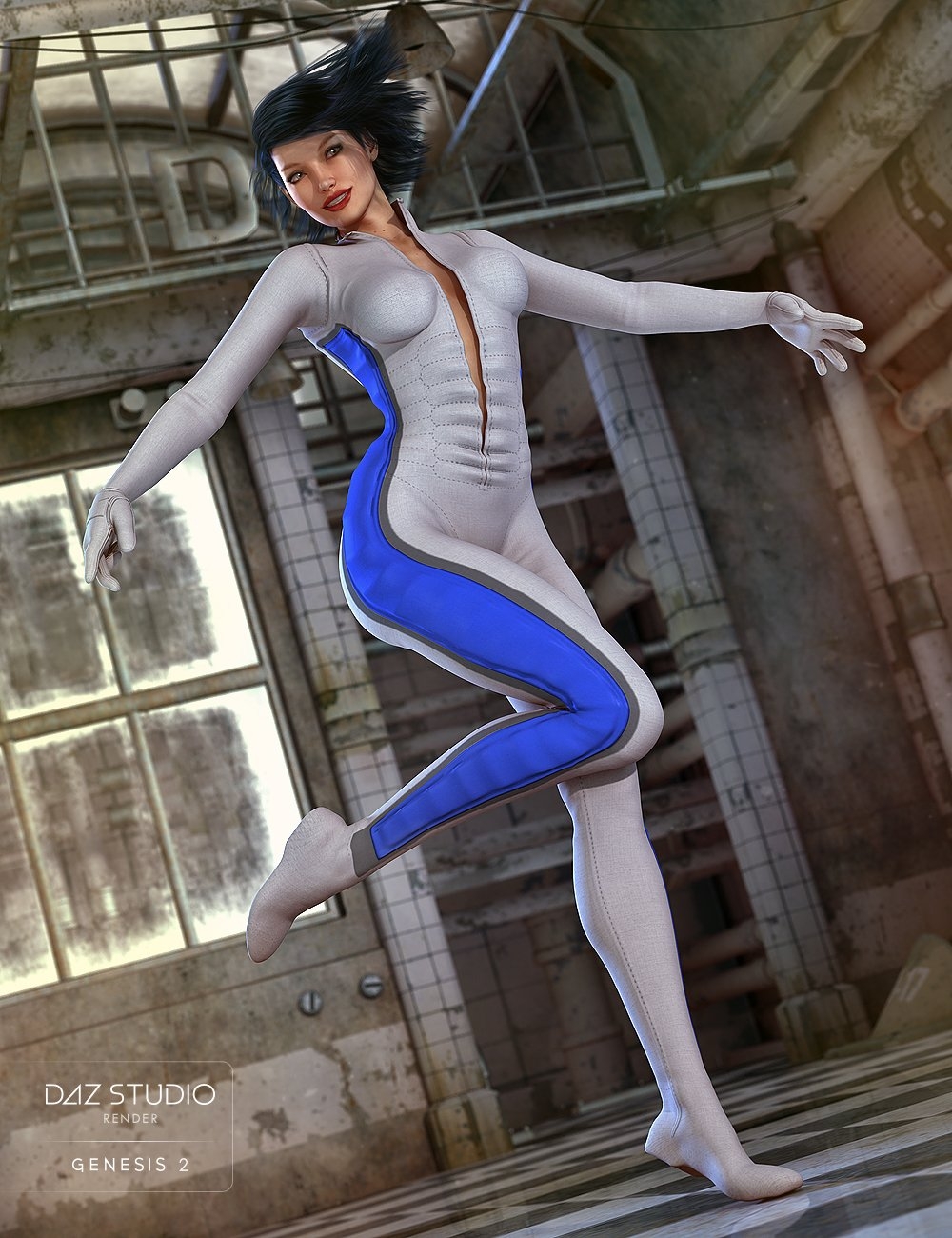 Ultra Bodysuit for Genesis 2 Female(s) by: the3dwizard, 3D Models by Daz 3D