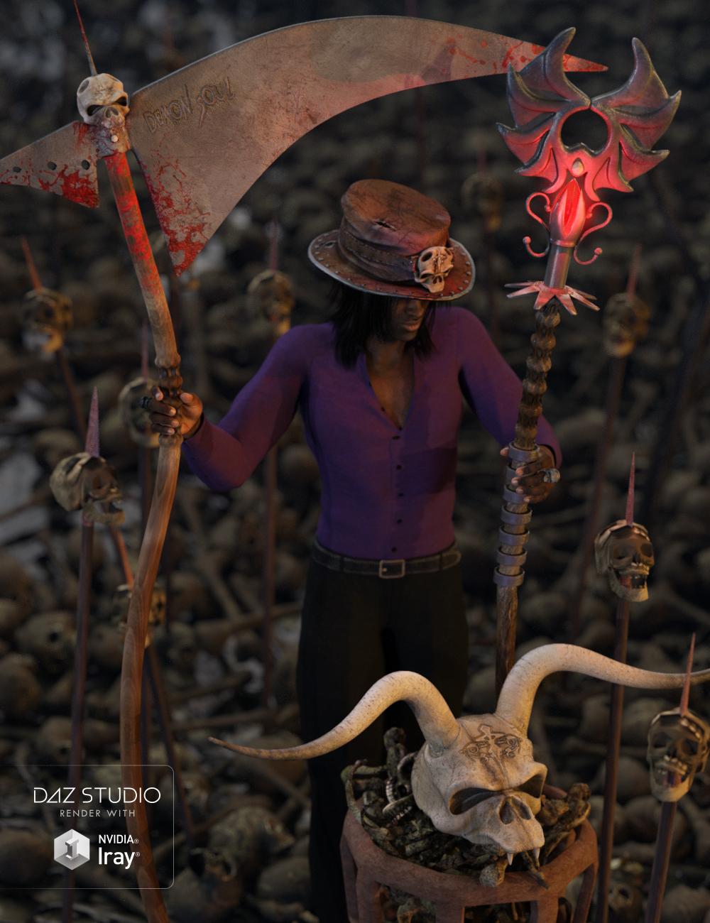 Demon Soul by: Nathy, 3D Models by Daz 3D
