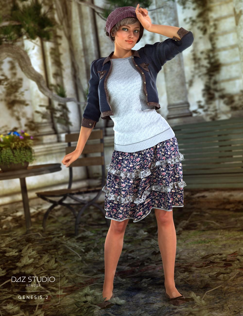 Smells Like Fall for Genesis 2 Female(s) by: Barbara BrundonSarsa, 3D Models by Daz 3D