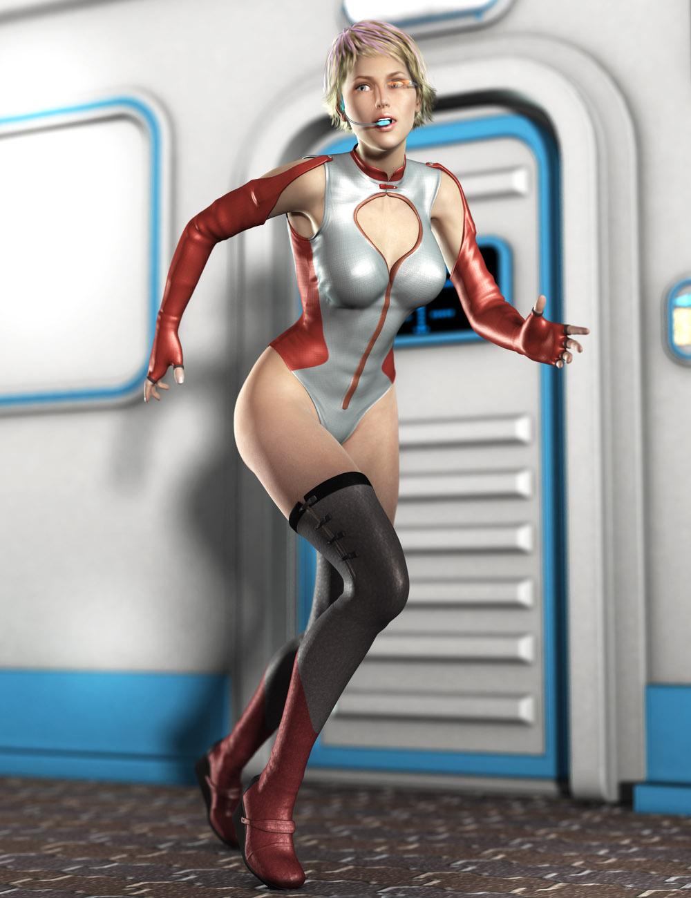 Code 246 for Genesis 2 Female(s) by: tentman, 3D Models by Daz 3D