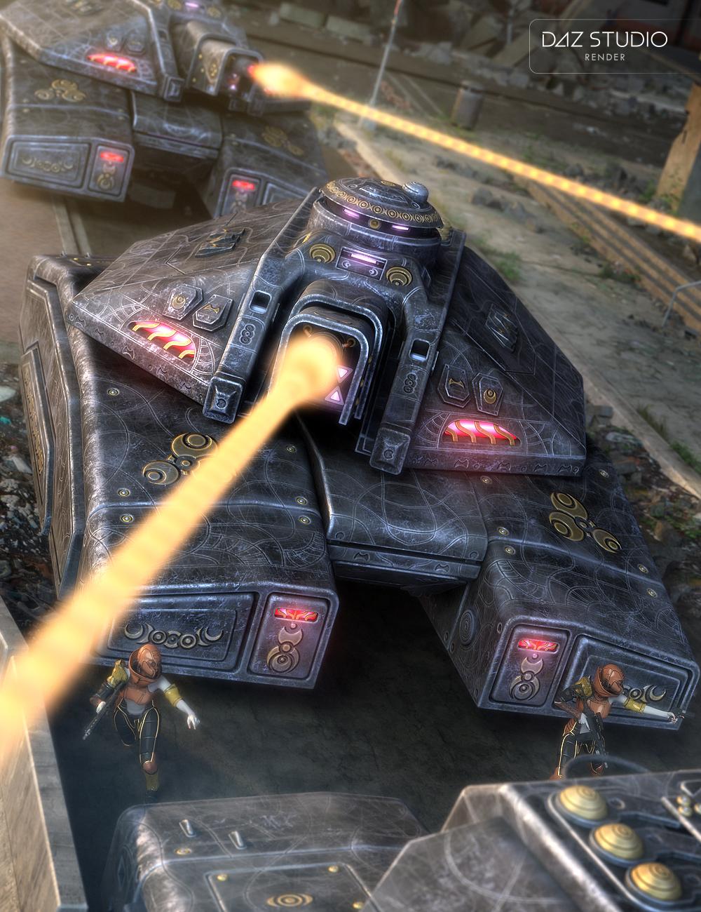 Valiant Tank by: petipet, 3D Models by Daz 3D