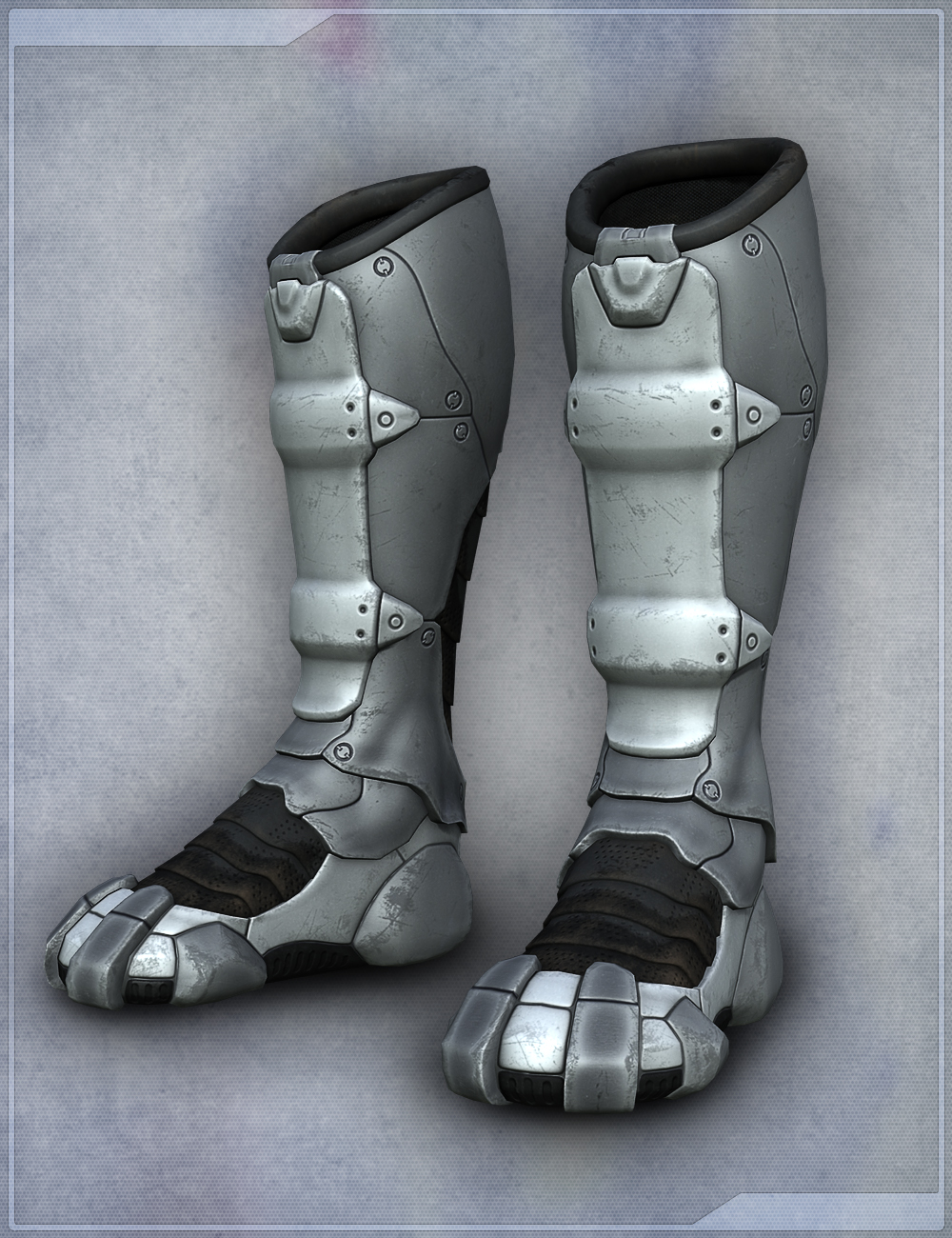 Sci Fi Boots for Genesis 2 Female(s) by: Velemudr, 3D Models by Daz 3D