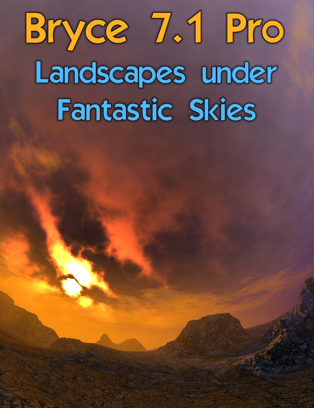 Bryce 7.1 Pro - Landscapes under Fantastic Skies by: HoroDavid Brinnen, 3D Models by Daz 3D