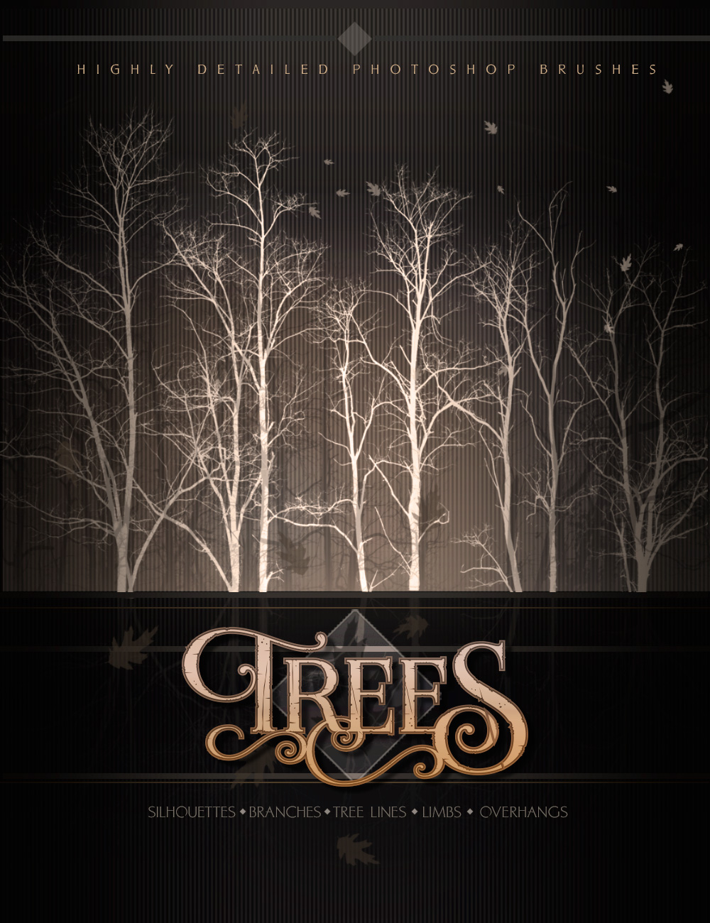 Ron's Trees by: deviney, 3D Models by Daz 3D